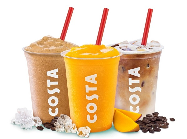Costa has added three new drinks to its Costa Ice range to appeal to ...