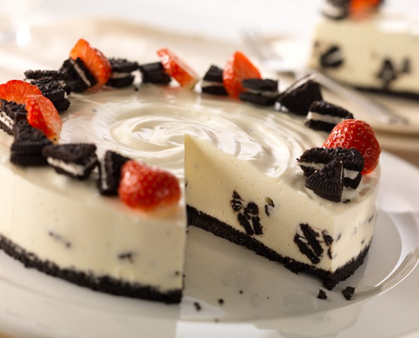 philadelphia recipe oreo vanilla cheesecake hospitality catering news. Black Bedroom Furniture Sets. Home Design Ideas
