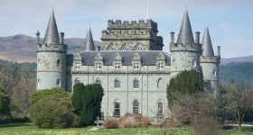 Inveraray Castle tea room receives continental-style makeover from QED