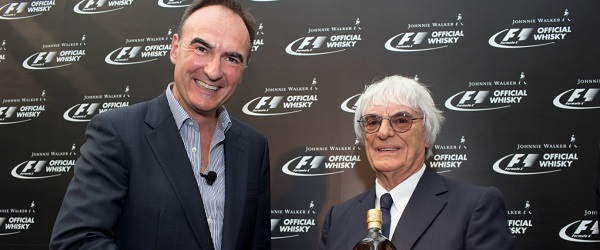 Johnnie Walker becomes the official whisky of Formula 1