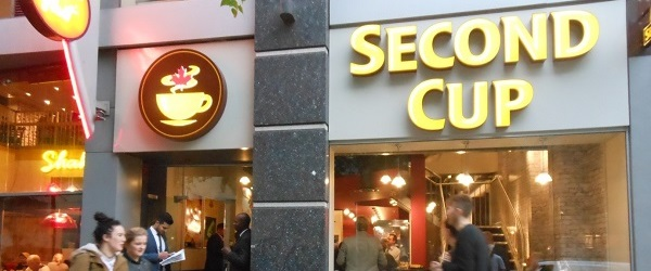 Canada's Second Cup opens in Manchester
