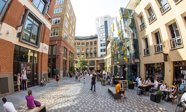 St Martins Courtyard Welcomes Department Of Coffee And