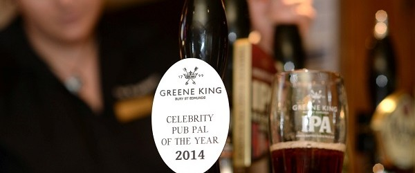 Stephen Fry is Pub Pal of the Year!