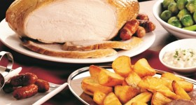 Turkey still tops the menu for crowd pleasing at Christmas