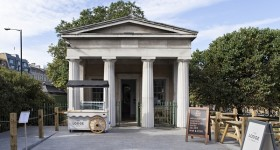 Grade II listed Hyde Park folly transformed into café