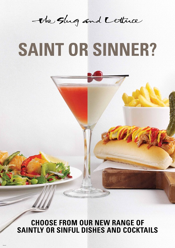 Slug and Lettuce to welcome Saints and Sinners