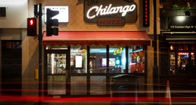 Chilango lights up in Camden