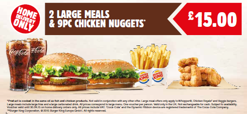 BURGER KING rolls out Home Delivery trial service ...