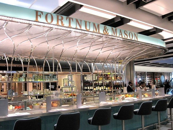 Vision Commercial Kitchens deliver Catering Facilities for Fortnum & Mason's first Airport Bar at Heathrow Terminal 5