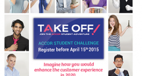 Accor launches student competition Take Off