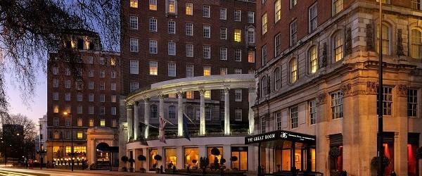 Iconic JW Marriott Grosvenor House Hotel on Park Lane for sale