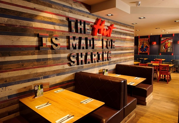 Pizza Hut Revamps Strand Restaurant With Cocktail Bar
