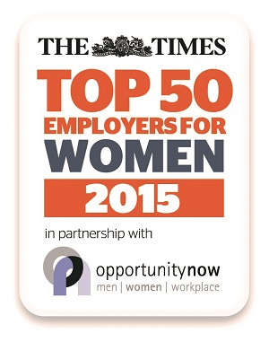 Sodexo in Top 50 Employers for Women for second year