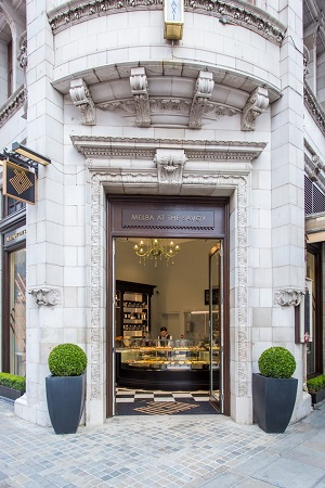 The Savoy's gourmet take-away on The Strand
