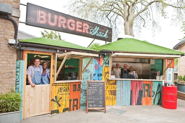 New Burger Shacks and Airstream for Young's