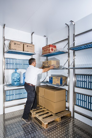 ISD Solutions announces space saving Stowaway Shelving to complement cold storage solutions