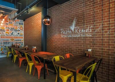 Enjoy authentic pasta in cool new surrounds