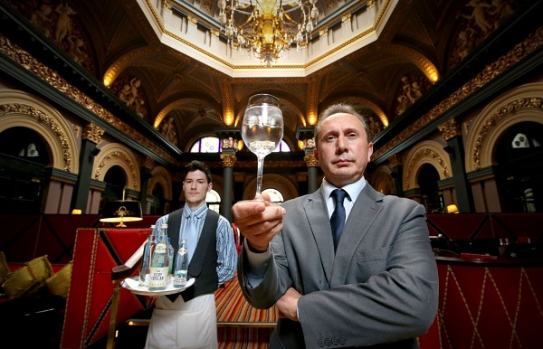 Luxury Water Menu launches at The Merchant, Belfast