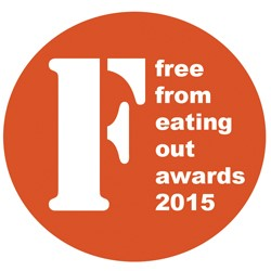Only 15 days left to enter the 2015 FreeFrom Eating Out Awards