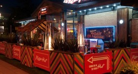 Pop to the Pop Up Bar at Pizza Hut Crawley