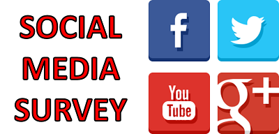 Social Media Survey Pop-Up