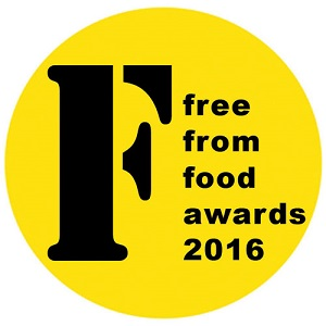 Bigger and better! Enter FreeFrom Food Awards 2016 from 16th September