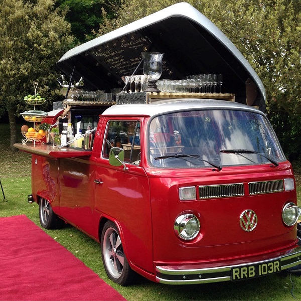 Classic Vw Delivery Van Transformed Into The Cocktail Car