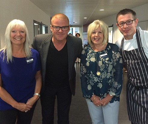 Heston's support is recipe for GCSE success