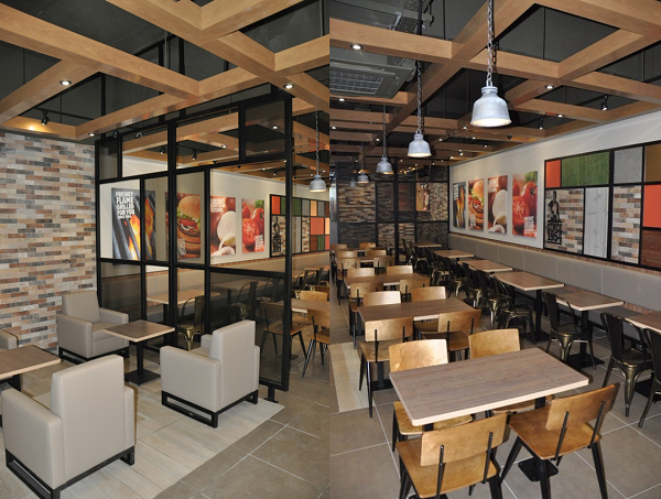 Burger King Introduces New Restaurant Design In UK