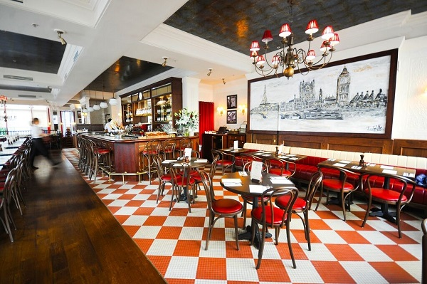 The Cafe Rouge Rejuve arrives in the city