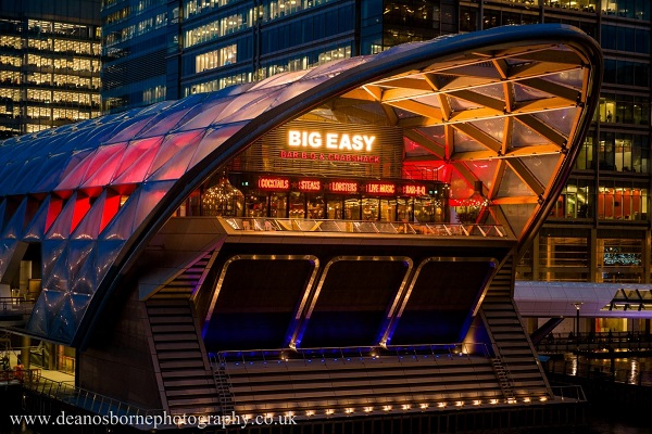 400-cover Big Easy Bar.B.Q and Lobstershack Canary Wharf opens ...