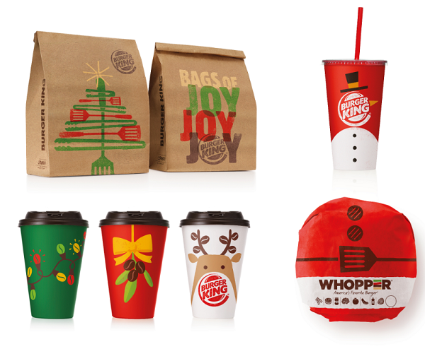 BURGER KING launches Christmas menu and packaging - Hospitality ...