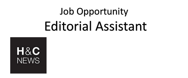 JOB OPPORTUNITY for Editorial Assistant
