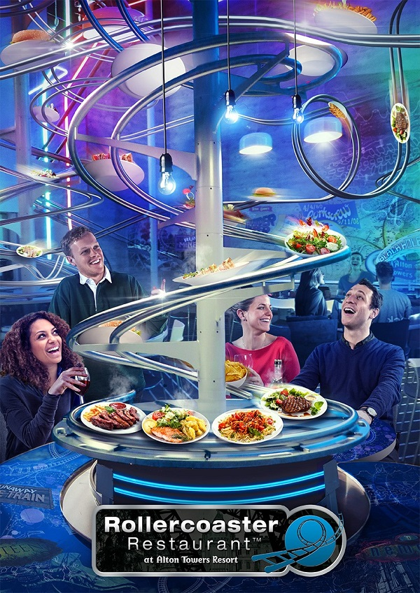 Alton Towers Plans Uk S First Rollercoaster Restaurant