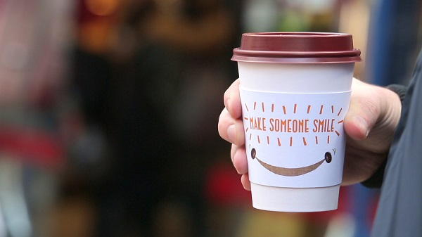 Pret empowers over 100,000 customers to 'make someone smile'