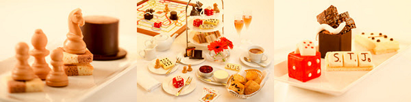St James's Hotel & Club launches it's all in the game afternoon tea with a Hamleys partnership