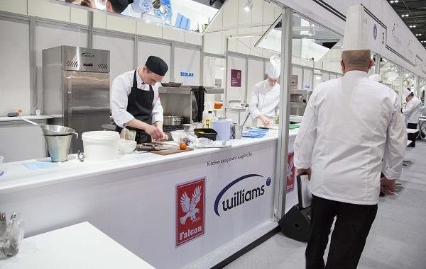 Falcon and williams provide theatrical flourish for salon for Salon culinaire lille