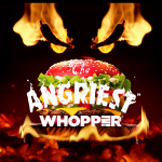 Burger King debuts new Angriest Whopper Sandwich with a fiery red bun
