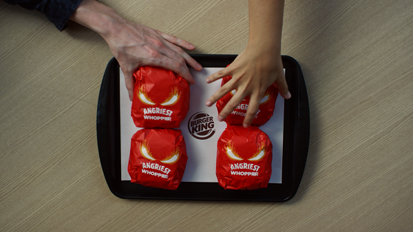 Burger King debuts new Angriest Whopper Sandwich with a fiery red bun  2