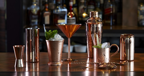 expanded range of copper barware is much more than a moscow mule