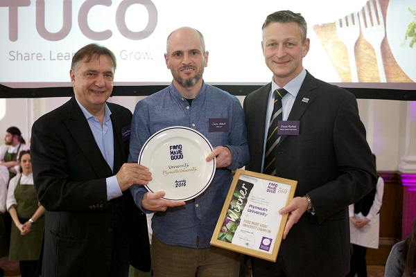 Top marks for Plymouth and Manchester universities at Food Made Good Awards 2016