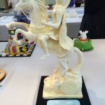 University chef lecturer conquers with Alexander the Great statue made from margarine