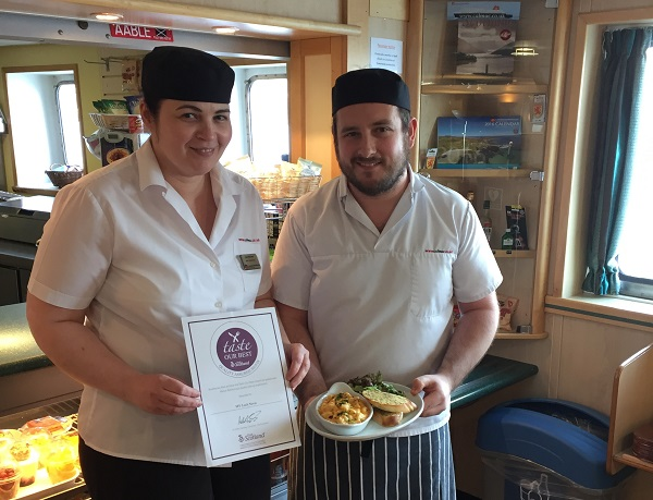 CalMac's Small Isles ferry becomes the latest in the fleet to achieve Taste Our Best status