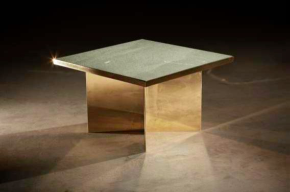 Green & Brass table, Novocastrian