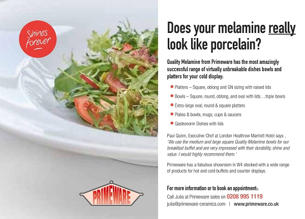 Does your melamine really look like porcelain
