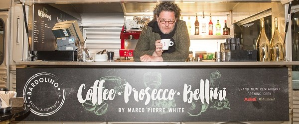 Marco Pierre White opens a Taste of Bardolino at the Mailbox