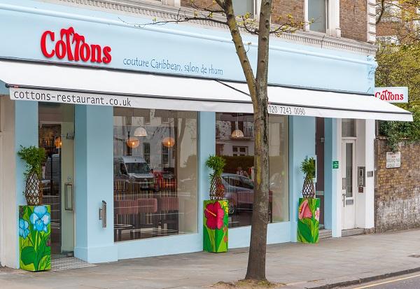 New Opening Cottons Caribbean Restaurant And Salon De Rhum
