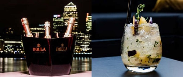 Now open Terrazza on the Thames at Columbia, Docklands 10