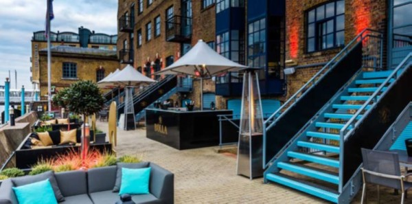 Now open Terrazza on the Thames at Columbia, Docklands 7