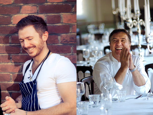 Ollie Dabbous and Raymond blanc to collaborate on an unmissable gastronomic event at Dabbous Restaurant